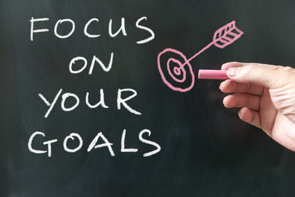 simple tips to focus on your goals learning to live free